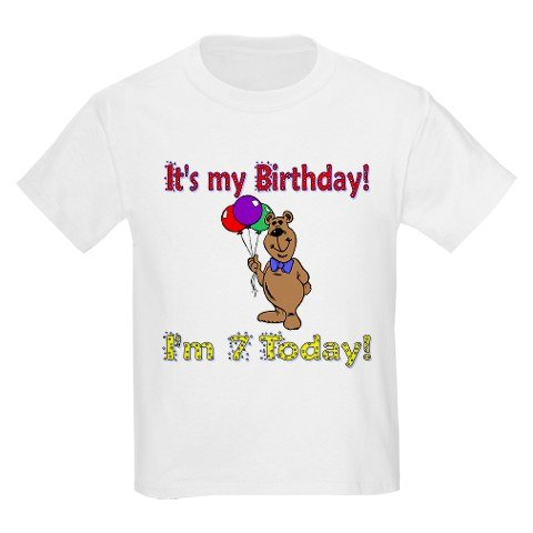 It's My Birthday I'm 7 Today