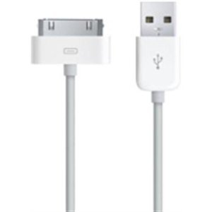 White Sync & Charge USB Cable for Apple iPhone 3G / Apple iPhone 3GS