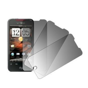 3 Pack of Premium Crystal Clear Screen Protectors for HTC DROID Incredible