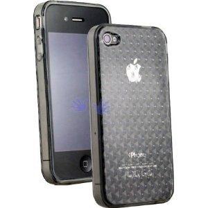Apple iPhone 4G (Newest Model!) Semi-Hard Polymer Crystal Case (Smokey) FREE SHIPPING!