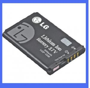 LG OEM LGIP-520B Lithium Ion Cell Phone Battery - SBPL0086903 FREE s/h!