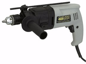 1/2'' HEAVY DUTY DUAL SPEED HAMMER DRILL WITH JACOBS