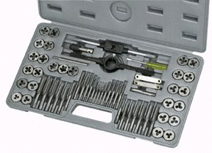 60 PC. SAE/METRIC TAP & DIE SET