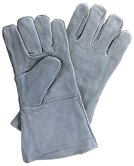 "WELDING GLOVES 14"" FLANNEL LINING (3 PAIR)"