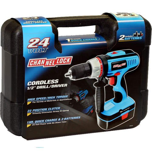 Channellock 24 Volt Cordless 1/2 in. Drill/Driver
