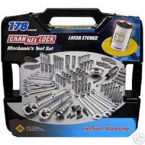 Channellock Mechanic's Tool Set - 176 pc. With Case