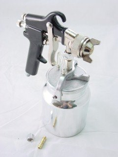 AIR PAINT SPRAY GUN - HIGH PRESSURE TYPE