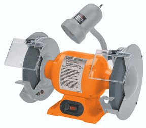 "ELECTRIC BENCH GRINDER - 8"" inch"