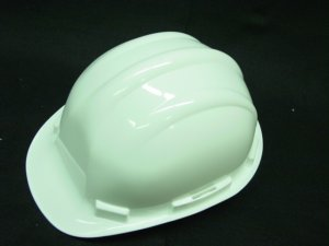 HARD HAT ANSI / OSHA APPROVED - WHITE