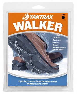 Yaktrax Walker - Men's Black - Free Shipping to U.S.