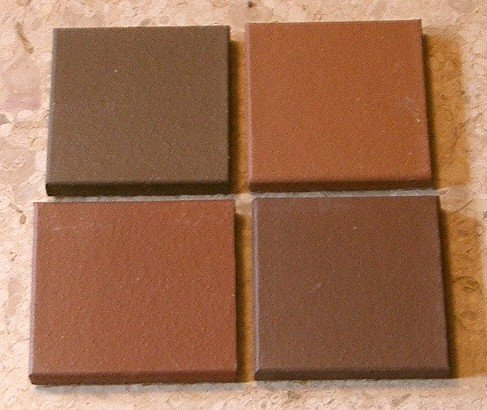 Beautiful Recycled Tile Coasters