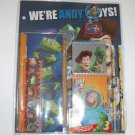 School Suply Set 9 pc Toy Story 3 Woody Buz Stationery We are Andy's Friends