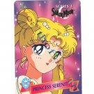 Sailor Moon Card, Cardzillion Series 3: 115 Princess Serenity