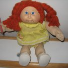 "Vintage Redhead ""I Can Hold My Crayon"" Cabbage Patch Doll, 1982"
