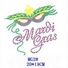 Mardi Gras stone motif