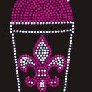 Drink design rhinestone motif