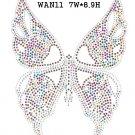 Butterfly rhinestone design