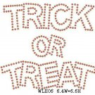 Trick or Treat stone motif