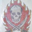 Skull hot fix motif