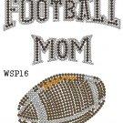 Football design hot fix motif