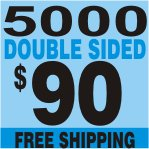 5000 2 SIDES Custom Full Color Business Card FREE SHIPPING
