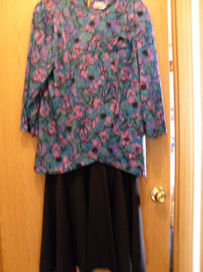 Women's 2 pc pullover dress Plus Size approx. 18/20