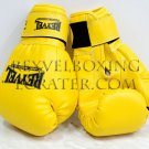 Reyvel boxing gloves Synthetic Leather 12 oz Yelow