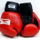 Reyvel boxing gloves Genuine Leather 12 oz Red