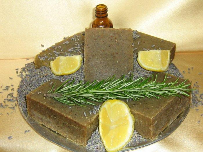 Lemon, Lavender and Rosemary Soap (4.25oz)