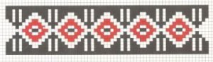 Counted cross stitch pattern - Romanian embroidery -2