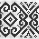 Counted cross stitch pattern - Romanian embroidery -3