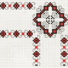 Counted cross stitch pattern - Romanian embroidery -5