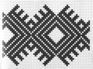 Counted Cross Stitch Pattern Romanian Embroidery 6
