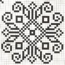 Counted cross stitch pattern - Romanian embroidery -11