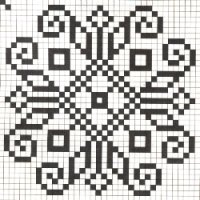 Counted cross stitch pattern - Romanian embroidery -11