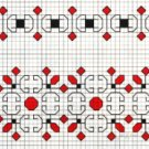 Counted back  stitch pattern - Romanian embroidery -15