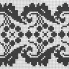 Counted cross stitch pattern - Romanian embroidery -18