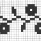 Counted cross stitch pattern - Romanian embroidery -19