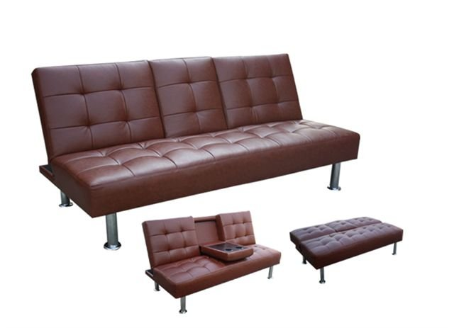 Sofa bed in brown AE008