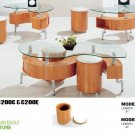 """s"" shape coffee table set C200"