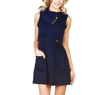 Navy Dress/ Top