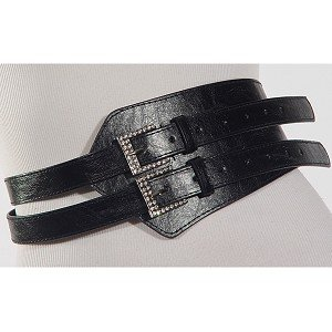 Black Fashion Belt
