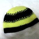 Skullie: Black & Yellow Striped