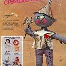 "Bucilla Needlecraft Kit ~ Soft Sculptural 21"" Wizard of Oz Tin Man Doll"