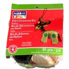 ArtMinds Felt Ornament Kit Reindeer Makes 4 Ornaments