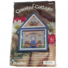 Bucilla Counted Cottages 33543 Summer Cottage Counted Cross Stitch Kit