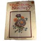 Rainbow Stitchery 80412 Crewel Embroidery Kit - Lotus