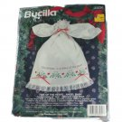 Bucilla Stamped Cross Stitch Kit 33230 Time of the Heart-Angel Baby