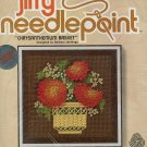 Sunset Designs Jiffy Needlepoint Kit ~ Chrysanthemum Basket