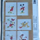 OOE (O. Oehlenschläger) Donald Chasing Butterfly Wall Picture Embroidery Kit 20626